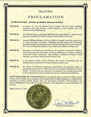USA Proclamation